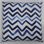 Blue Way Printed Cushion Cover