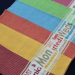 Designed Honey Comb Towels