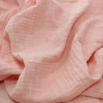 100% Cotton Voile Crinkle Fabric