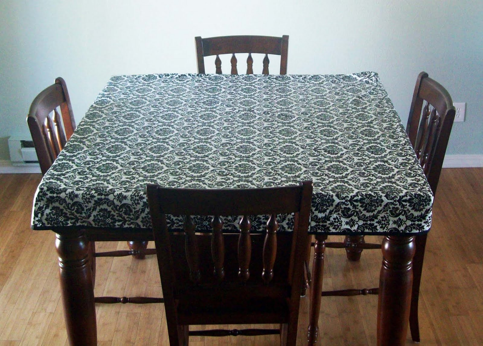 Ethnic Floral Prints On Table Cloths