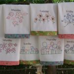 Printed &  Embroidery  Cotton Kitchen Towels