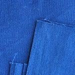 Blue Color Twill weave cotton Fabric