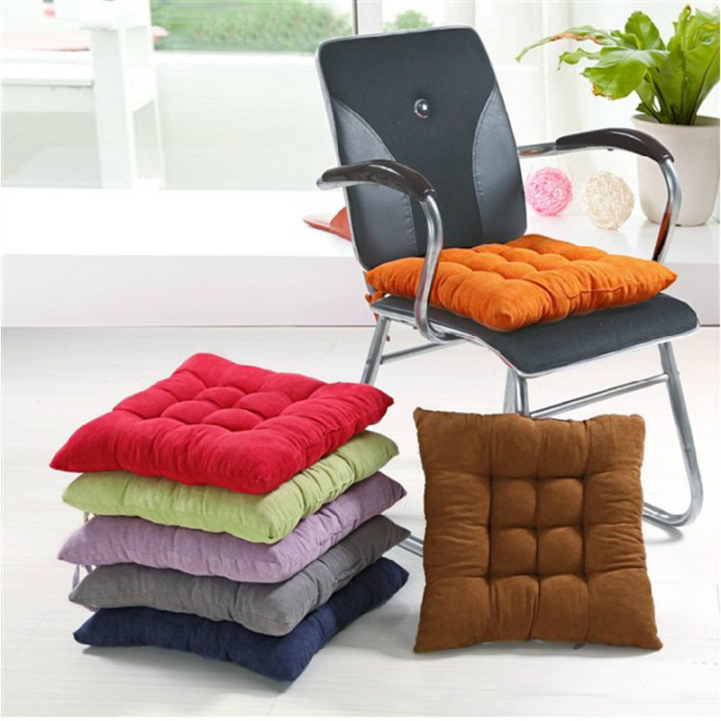 Charming Chair Pad Multi Colors