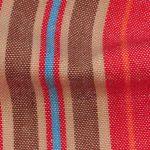 Chambray Striped Organic Fabric