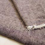 Charcoal Chambray Organic Cotton made Fabrics