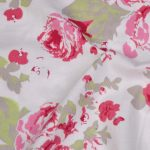 Flower Design Printed Cotton Fab