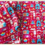 Printed Design Poplin Fabrics