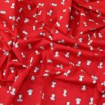 Mice Printed Cotton Poplin Fabrics
