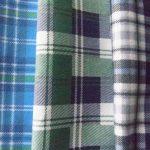 Multi Color Cotton Flannel Fabrics