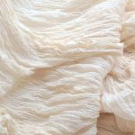Natural Cotton Stretch Crepe Fabrics