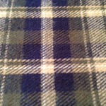 Navy and Botle Green Color yarn dyed Flannel Cloths