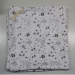 Organic Cotton Printed Baby Blankets