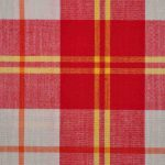 Poplin Checked Cotton Fabric