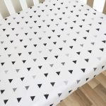 Printed 200TC Percale Crib Sheet For Baby