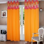 Spiral-Printed-Bloomberry-Cotton-Curtains-for-Door Set Pc