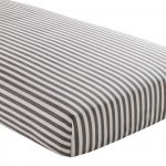 Striped Cotton Fitted Sheets