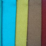Twill Fabrics dyed colors