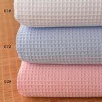 Waffle in Single 20s yarn Used weave fabrics