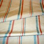 Striped Closeout Upholstery Fabric closeup