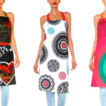 Contemporary  Designs on Aprons