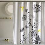 Cotton shower-curtain