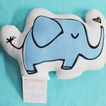 Shaped Cushion Calf Elephant