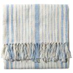 Striped Cotton Slub Throws