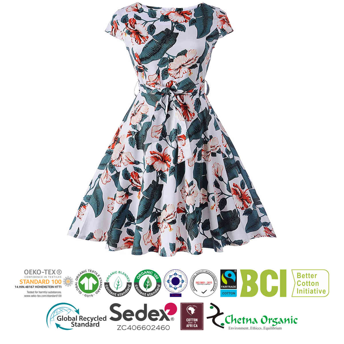 Ladies Printed One Piece Dress Sri Kalyan Export Private Limited